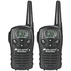 2Way Radio:Midland 18-Mile Gmrs Radio Pair Pack