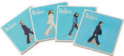 Bar Tools:Coaster Set-Beatles Abbey Road 4 pc.