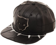 Hat:Black Panther-Suit Up Snapback Cap