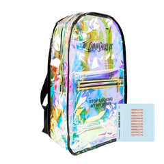 Backpack:The Chainsmokers-Large Iridescent Backpack + Digital Album