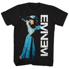 Tshirt:Rap-Eminem Live On The Mic