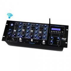 DJ Equipment:USB Flash, SD Memory Card Readers LCD Digital Display 4-Channel Bluetooth