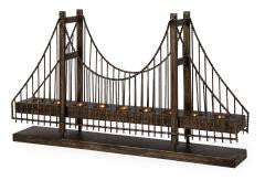 Candle Holder:IMAX Modish suspension bridge