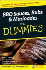 Cookbook:BBQ Sauces, Rubs & Marinades For Dummies