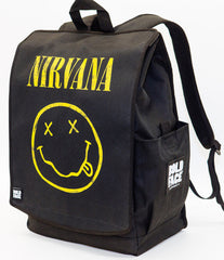 Backpack:Nirvana Yellow Smiley Face