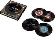 Bar Tools:Coaster Set-Pink Floyd 4 Pc