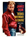 Artprint:James Dean-Rebel Without a Cause, 1955