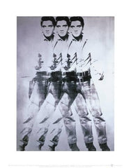 Artprint:Triple Elvis, 1963 Andy Warhol