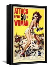 Canvas Print:Movie-Attack of the 50 Foot Woman