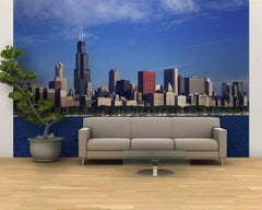 Wallpaper Mural:Skyline from Lake Michigan, Chicago, Illinois, USA