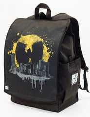 Backpack:Wu-Tang Clan Bat Signal Over Cityscape
