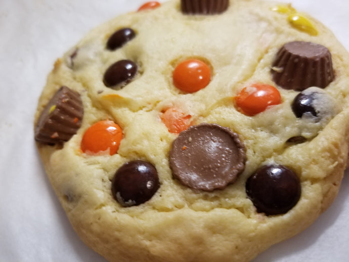 Reeses Pieces Cup Cookie