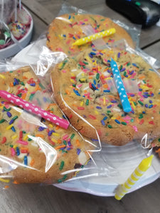 Birthday Cake Jumbo Gourmet Cookie