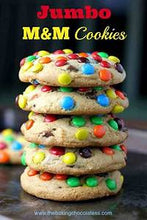Load image into Gallery viewer, Candy Jumbo Gourmet Cookies Mixed Pack