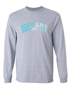 Icey Life University Long Sleeve - Grey