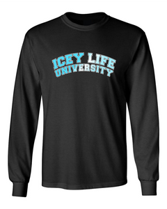 Icey Life University Long Sleeve - Black