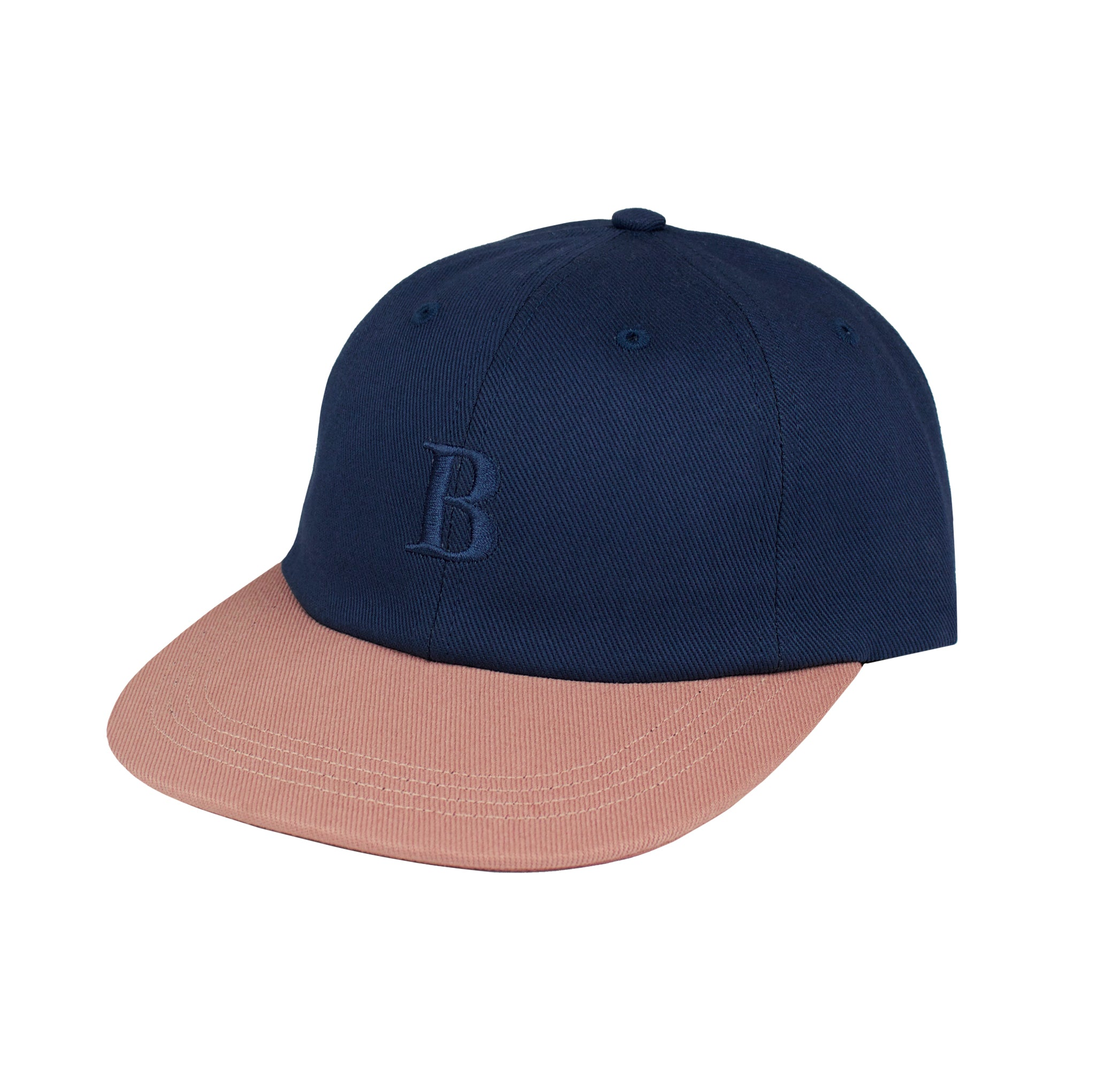 Borough 6 Panel - Smoke Blue/Coral