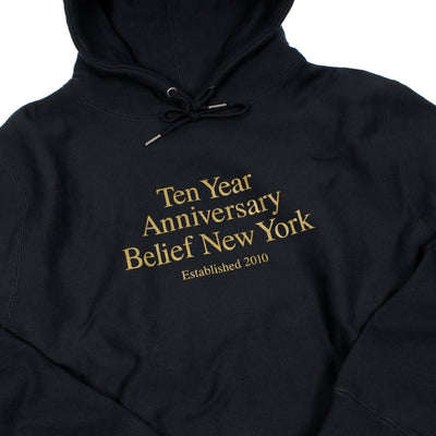10 Year Hoody - Black