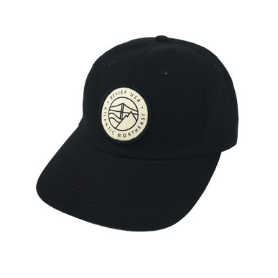 Atlantic 6 Panel - Black