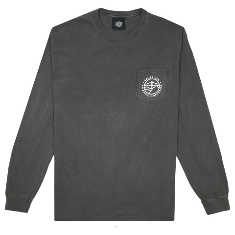 Atlantic L/S Pocket Tee - Pepper