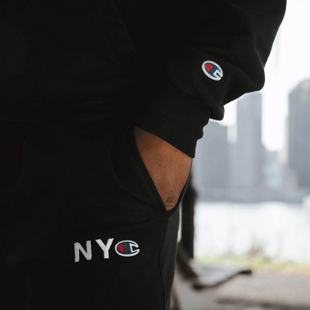 NYC Champion™ Fleece Pants - Black