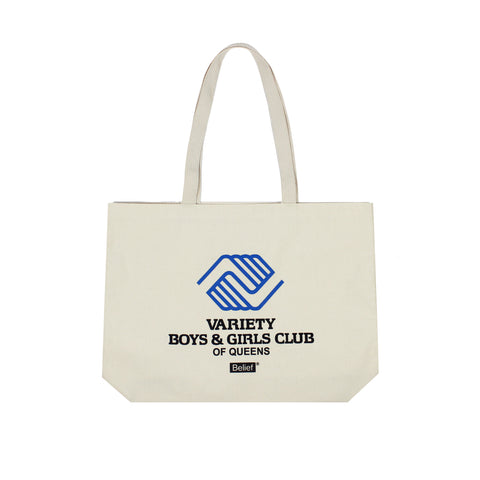 B&G Club Tote - Natural