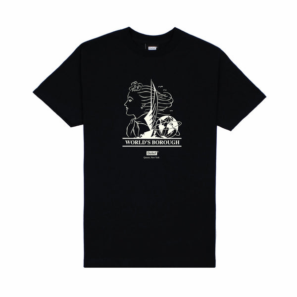 World's Borough Tee - Black
