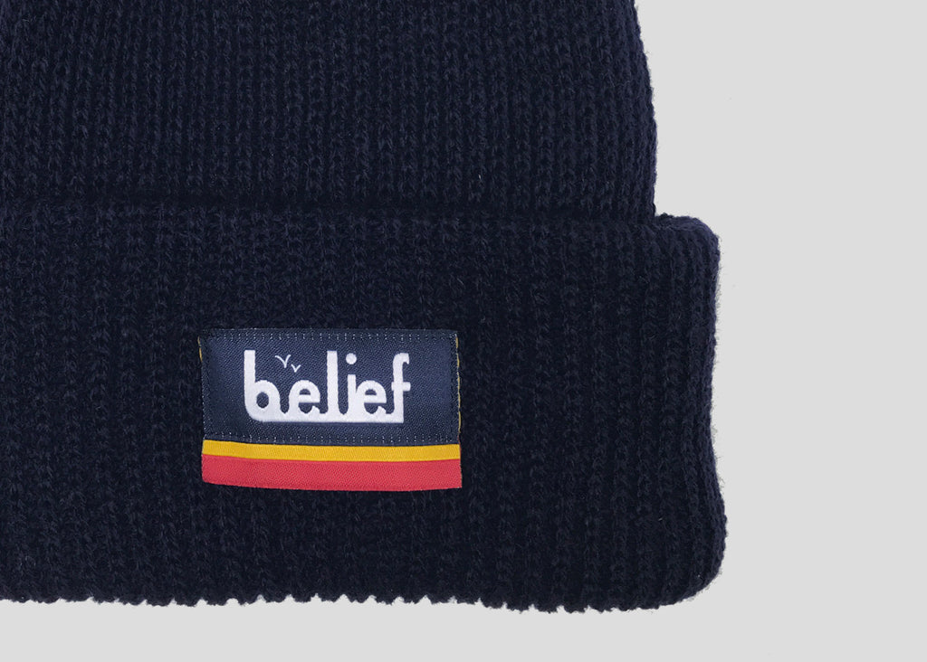 Bottom Line Beanie - Navy