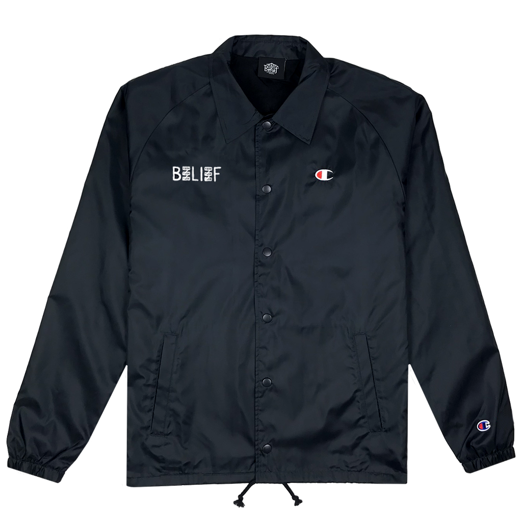 City Block Champion™ Coach Jacket - Black