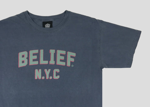College Tee - Denim