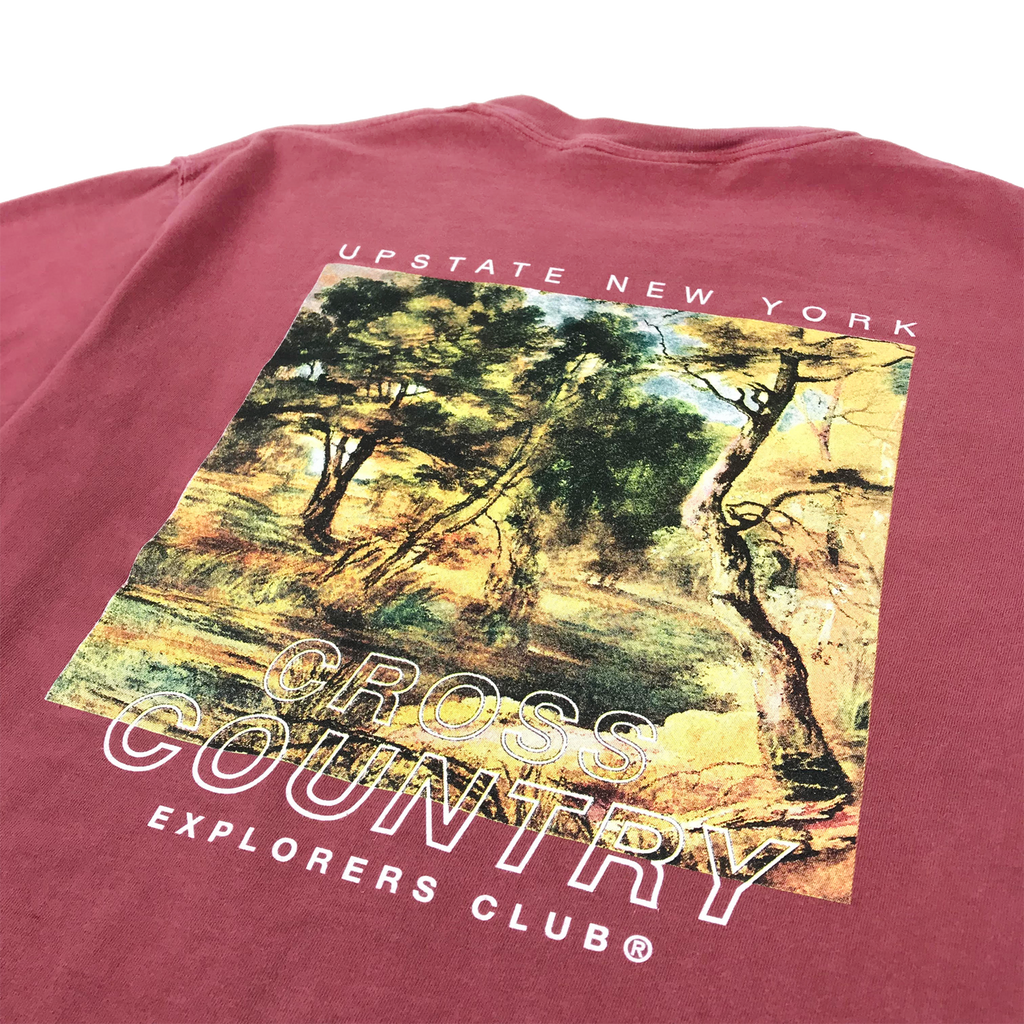 Cross Country Tee - Brick