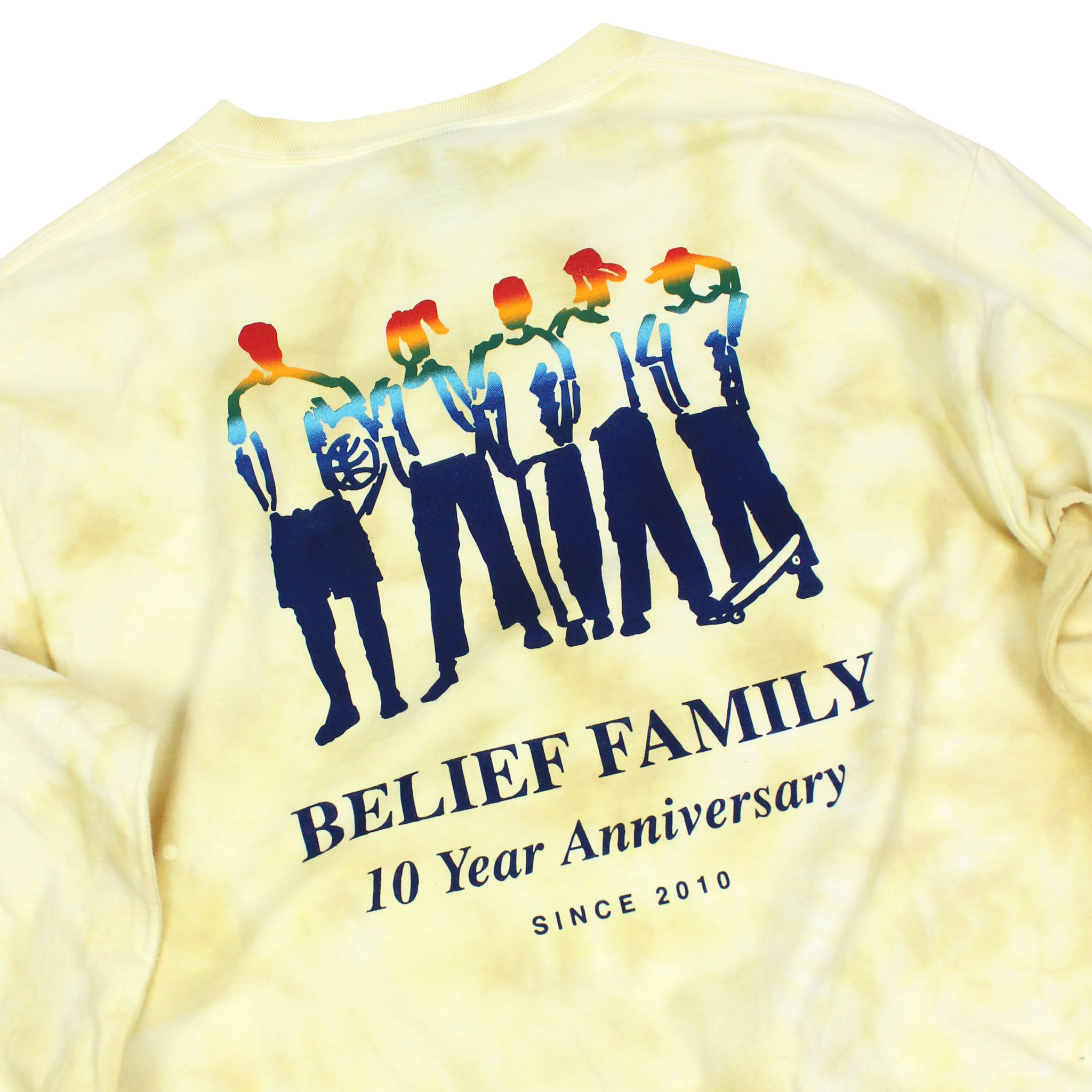 Family Longsleeve - Yellow Dye
