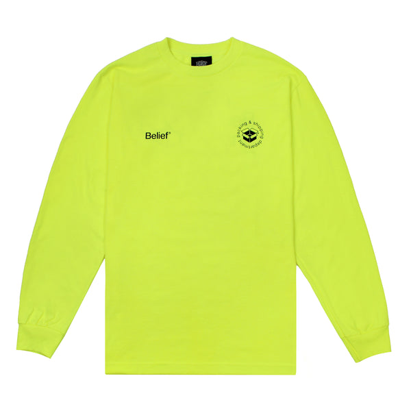 Logistics L/S Tee - Highlighter