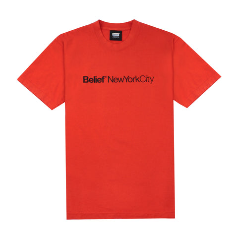 City Tee - Burnt Orange