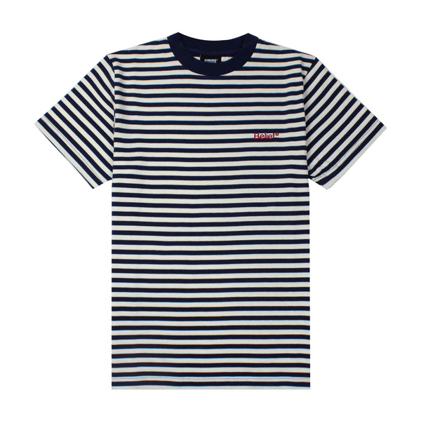 Newport Striped Tee - Natural/Navy