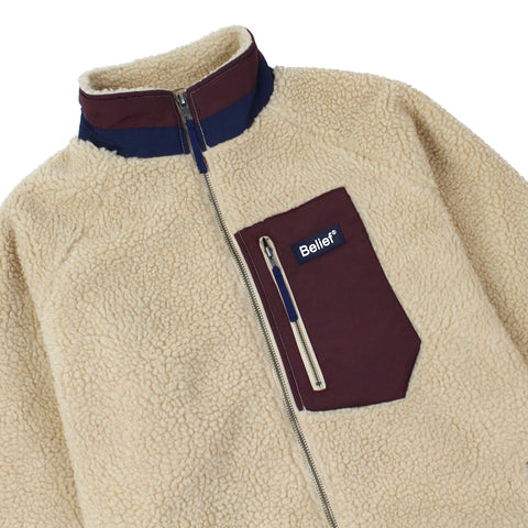 Arctic Zip Fleece - Camel