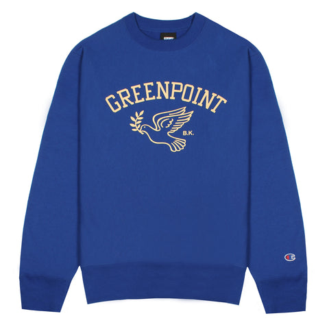 Greenpoint Champion™ Crewneck - Royal