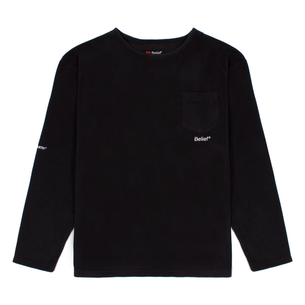 Polartec® Pocket L/S Shirt - Black