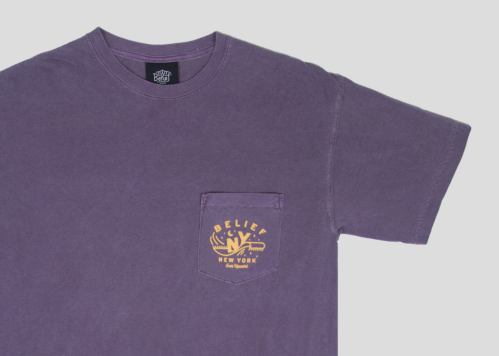 Magic Pocket Tee - Wine