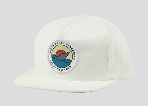 Message Snapback - White