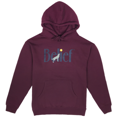 Midnight Hoody - Burgundy