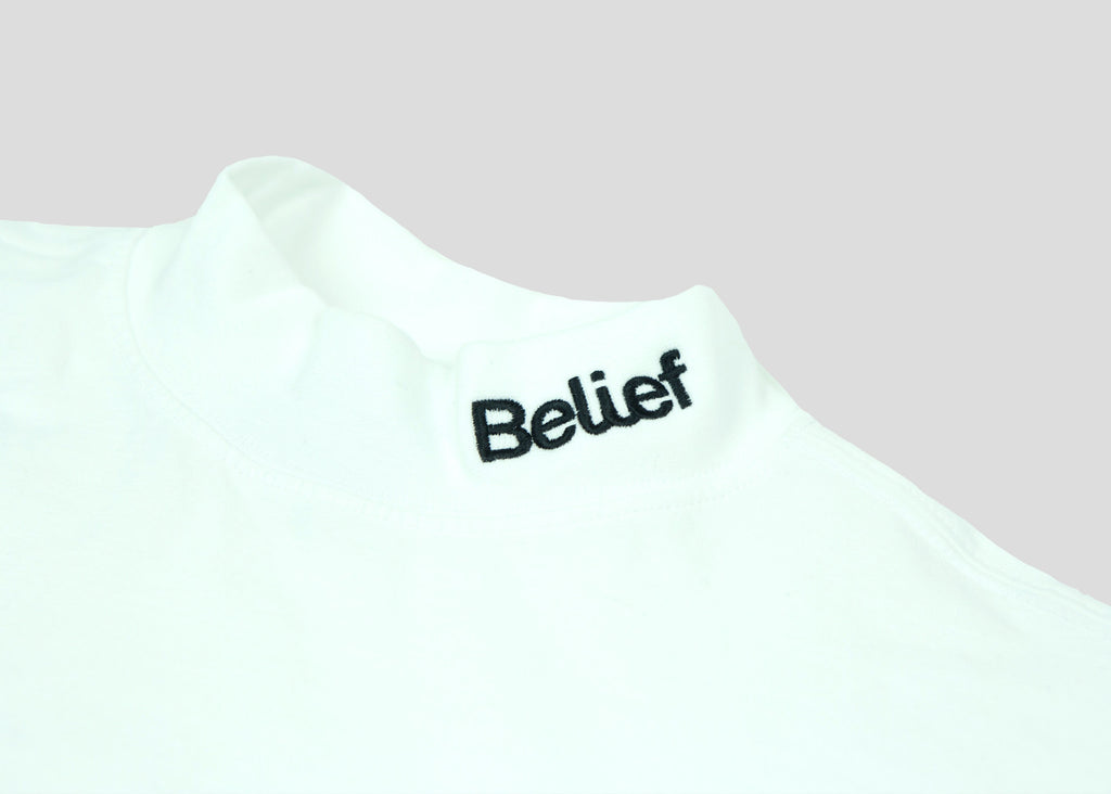 Connect Mock Neck - White
