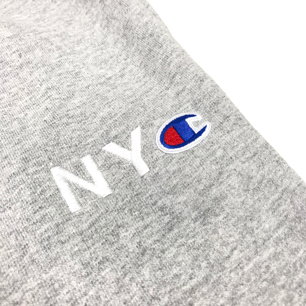 NYC Champion™ Fleece Pants - Heather Grey