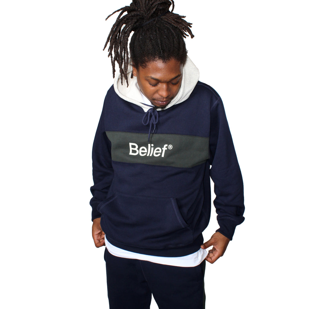 Academic Premium Hoody - Midnight Navy