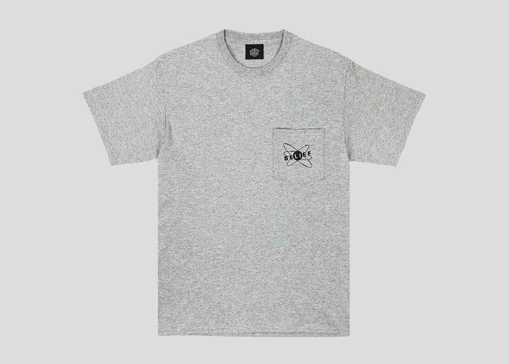 Physics Pocket Tee - Heather