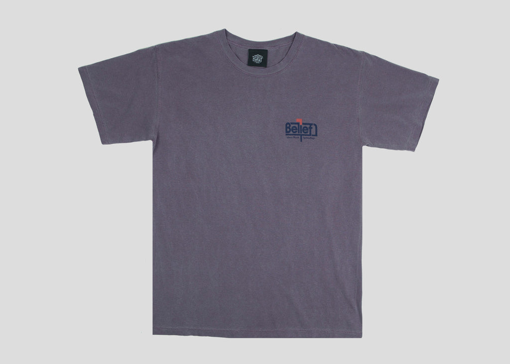 Posted Tee - Wine