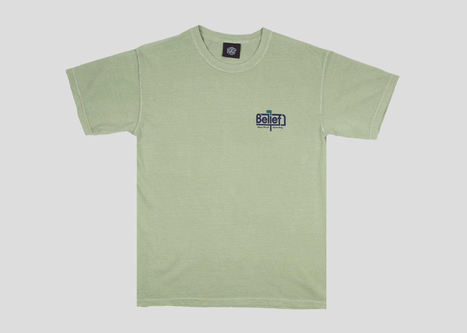 Posted Tee - Sandstone
