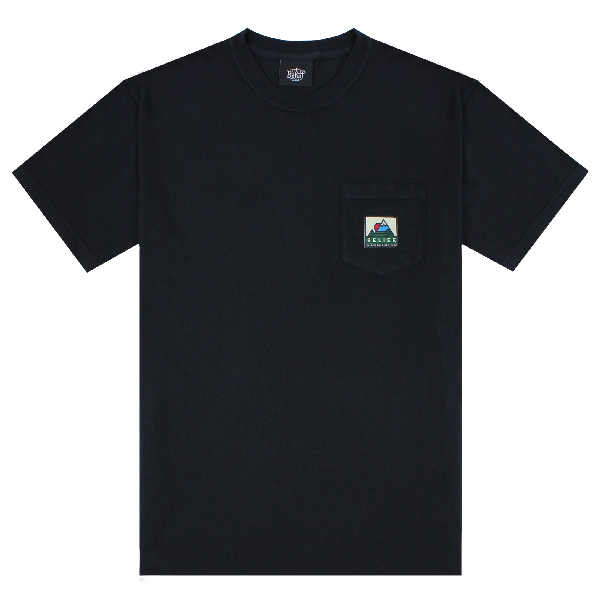 Elements Pocket Tee - Black