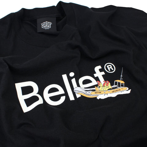 Surf & Rescue Tee - Black