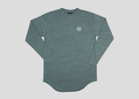 Triboro L/S Scoop Tee - Tri Heather